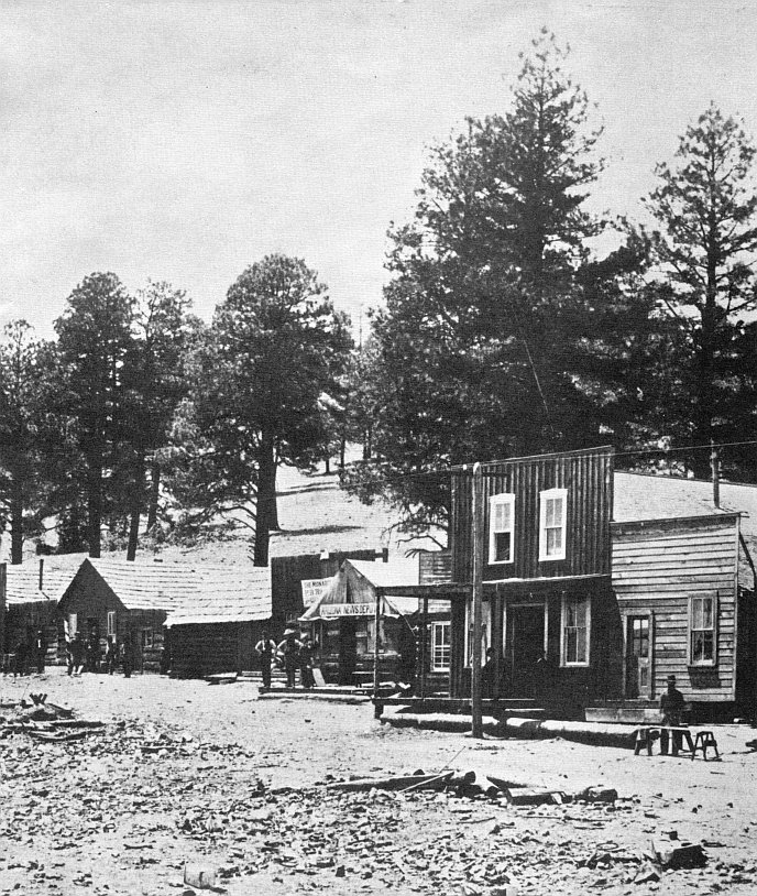 Flagstaff Old Town 1883 Public Domain