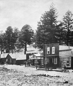 Old Town Flagstaff 1883