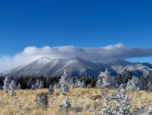 The San Francisco Peaks Flagstaff
