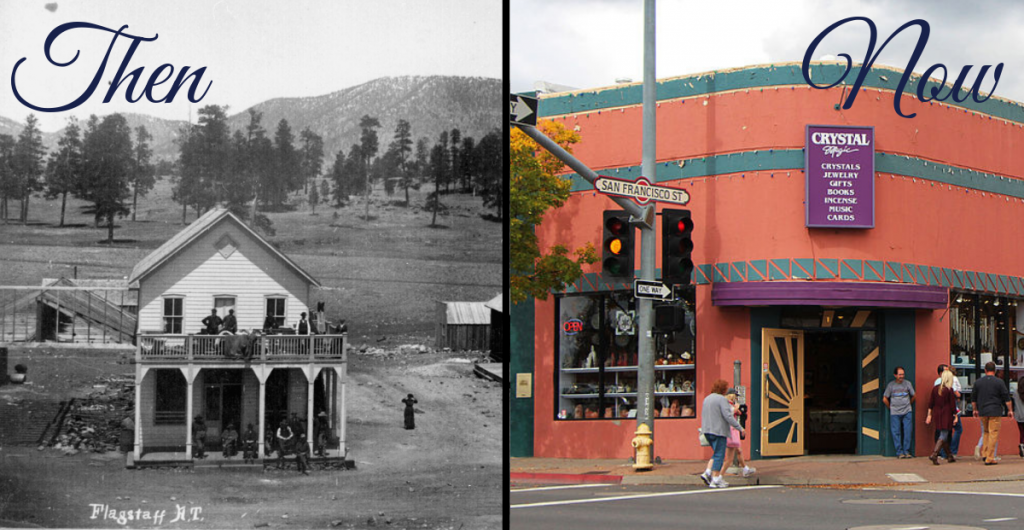Vail Building Then and Now